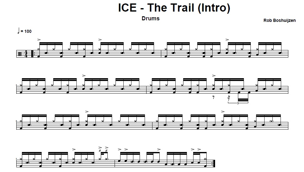 ICE- The trail
